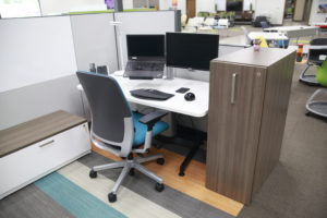 From Open Bench Applications To More Individual Private Space, The  Flexibility Of Answer Modular Office Workstations ...