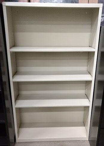 HON 4 Shelf Metal Bookcase