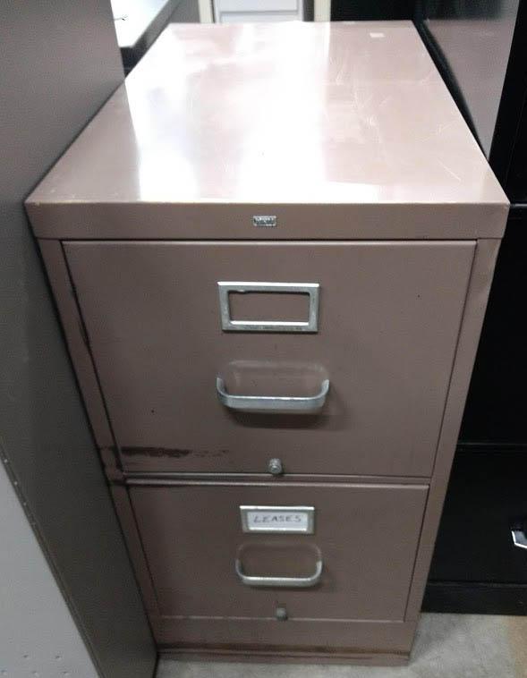 HON 2 Drawer Filing Cabinet